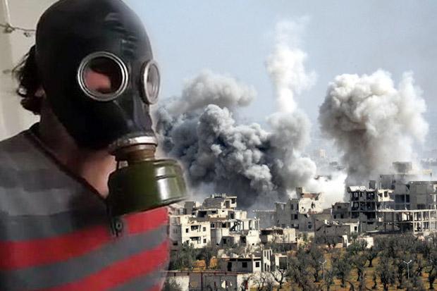 Amerika Serikat kembali mencurigai pemerintah Suriah melakukan serangan gas beracun