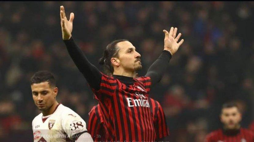 Zlatan Ibrahimovic Dikabarkan Akan Pergi Dari AC Milan