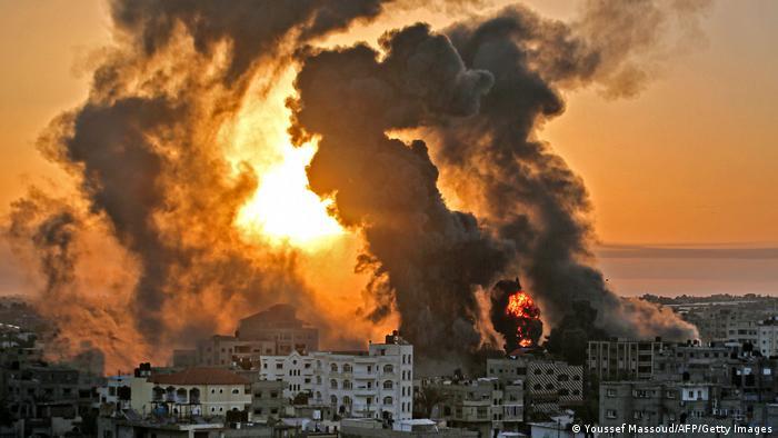 Peluncuran Gempuran Serangan Udara Israel Ke Jalur Gaza